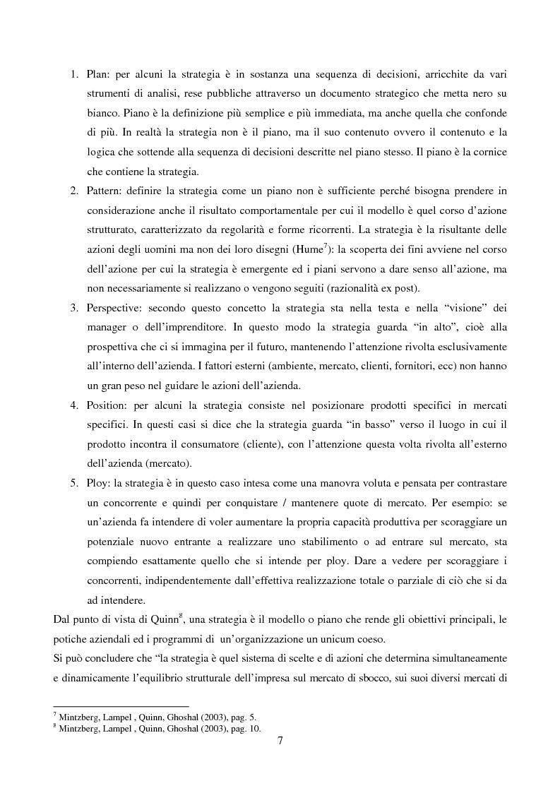 Anteprima della tesi: Le strategie di internazionalizzazione: il licensing in PH&T, Pagina 5