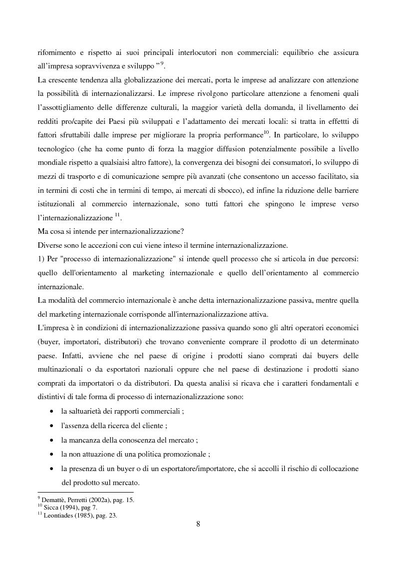 Anteprima della tesi: Le strategie di internazionalizzazione: il licensing in PH&T, Pagina 6