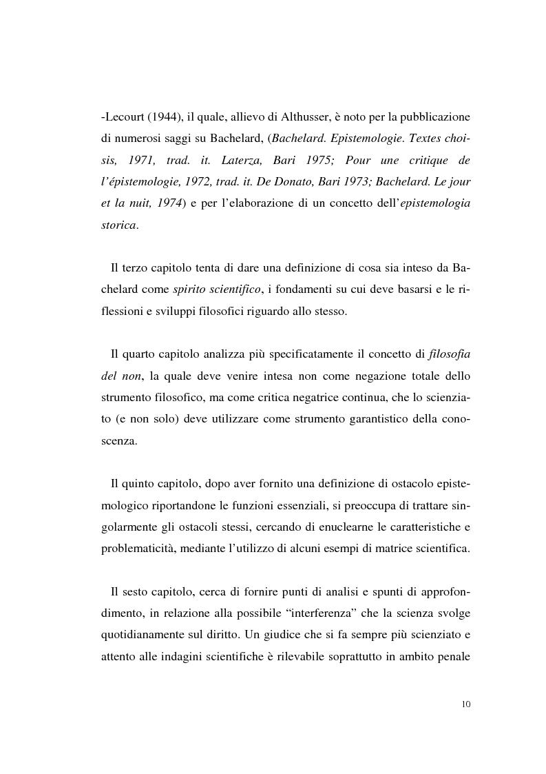 Anteprima della tesi: Il rapporto filosofia-scienza in Gaston Bachelard, Pagina 7