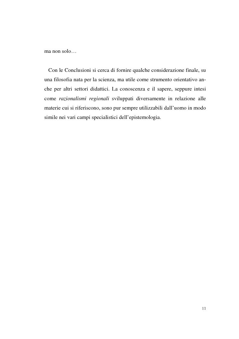 Anteprima della tesi: Il rapporto filosofia-scienza in Gaston Bachelard, Pagina 8