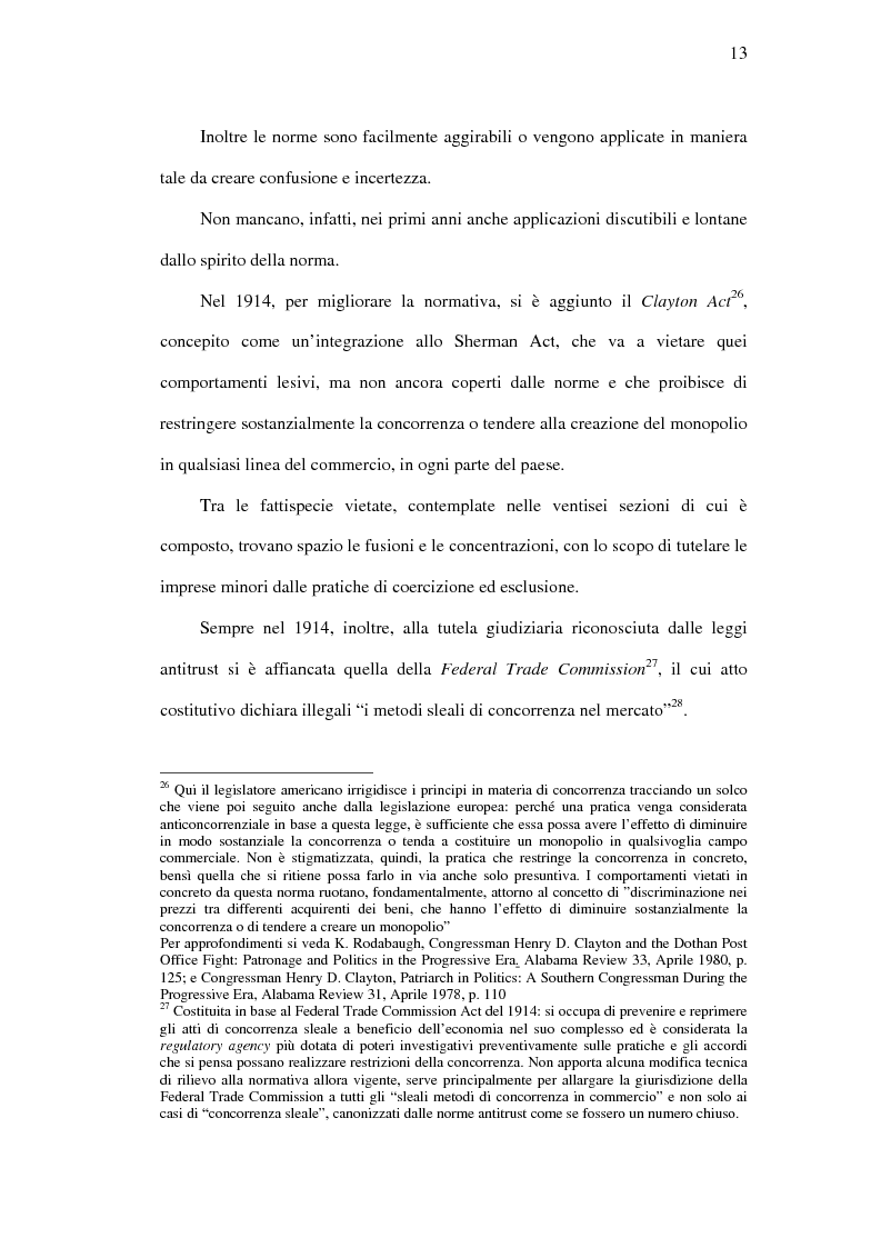 Anteprima della tesi: I mercati rilevanti tra ricostruzione economica e sindacato giurisdizionale, Pagina 13