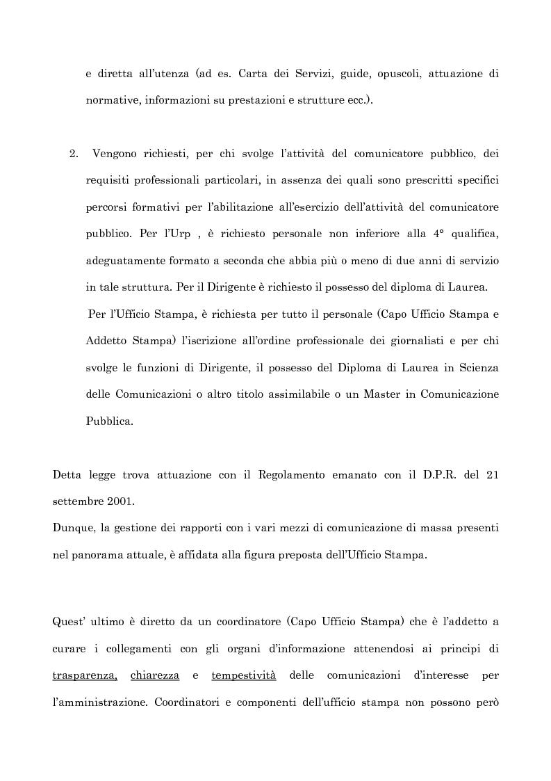 Anteprima della tesi: Informazione e uffici stampa. Tra verità e persuasione, Pagina 2