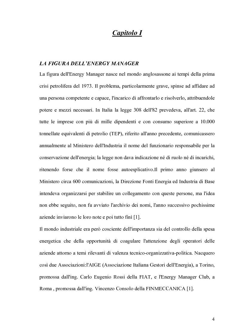 Anteprima della tesi: Il ruolo dell' Energy Manager nella riqualificazione energetica di un centro di riabilitazione motoria, Pagina 1