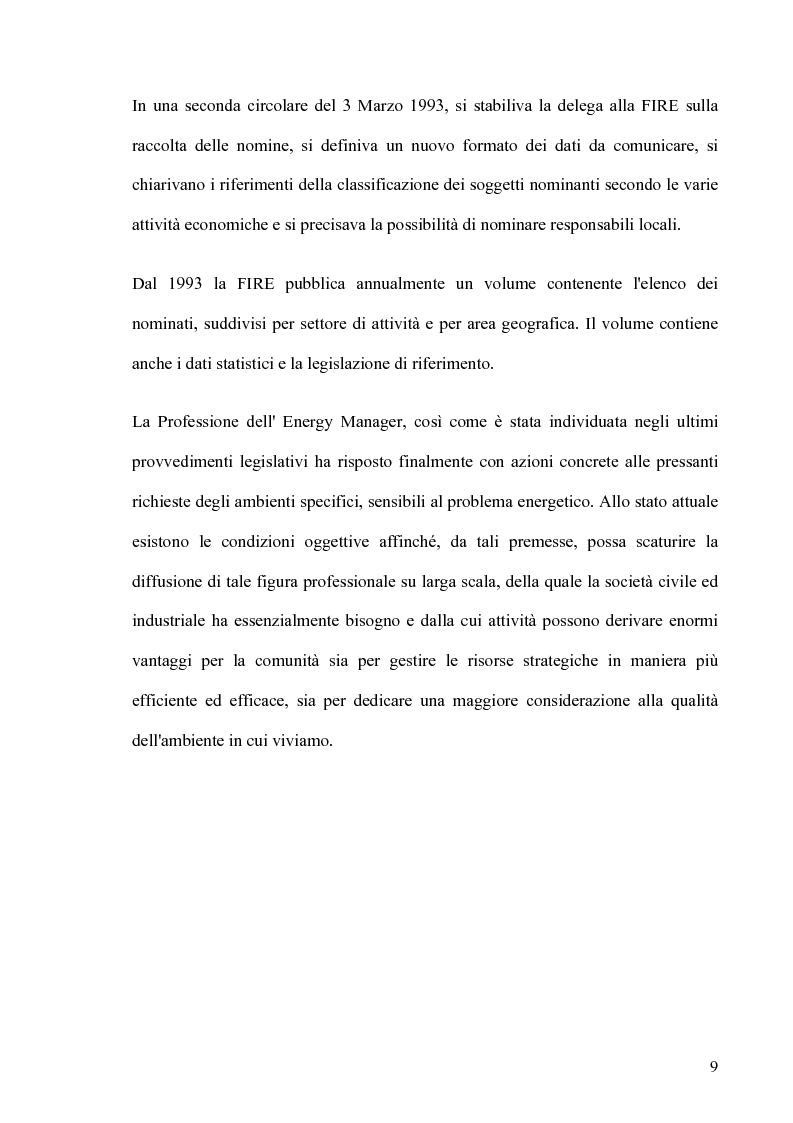 Anteprima della tesi: Il ruolo dell' Energy Manager nella riqualificazione energetica di un centro di riabilitazione motoria, Pagina 6