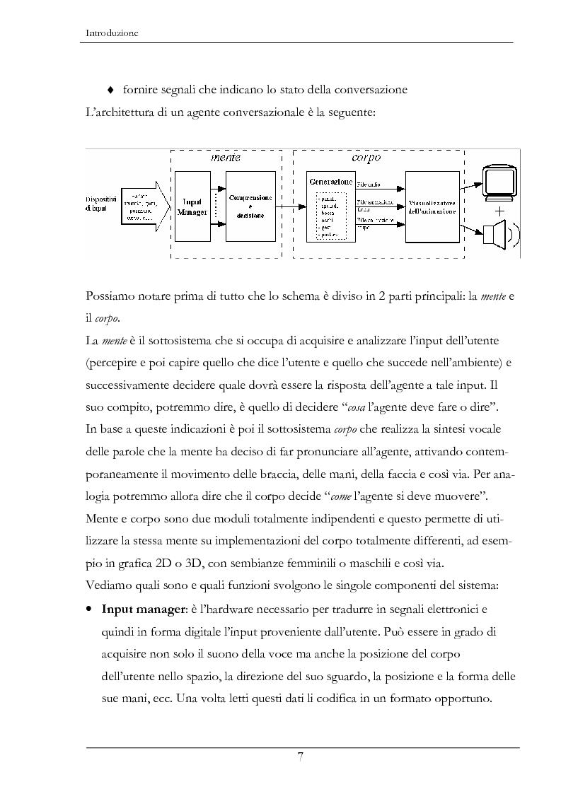 Anteprima della tesi: Analisi e sintesi dei gesti comunicativi per agenti conversazionali, Pagina 3