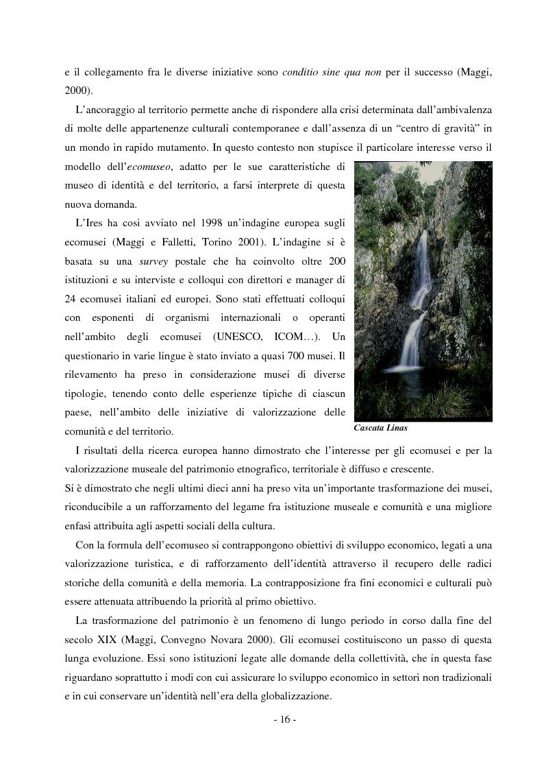 Anteprima della tesi: Comunicare un patrimonio: il Parco Geominerario Storico e Ambientale della Sardegna, Pagina 13