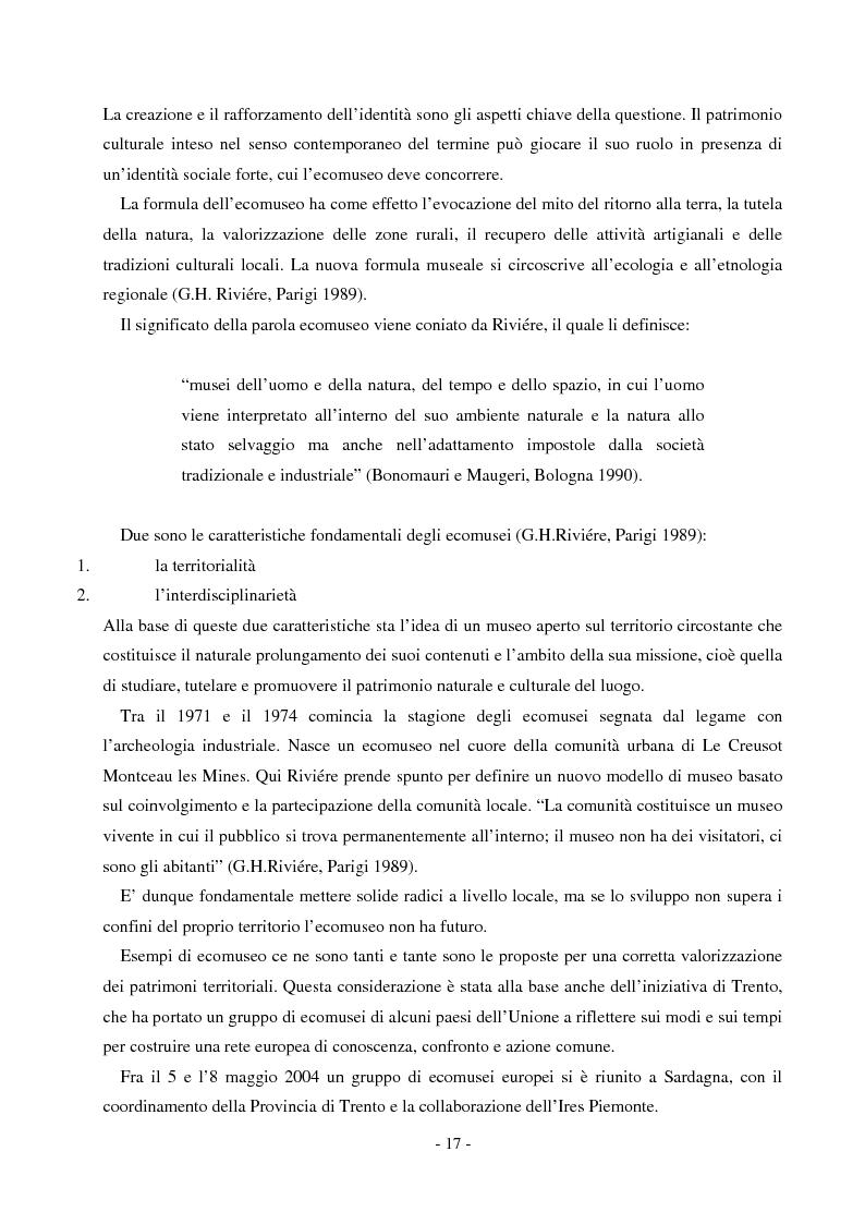 Anteprima della tesi: Comunicare un patrimonio: il Parco Geominerario Storico e Ambientale della Sardegna, Pagina 14