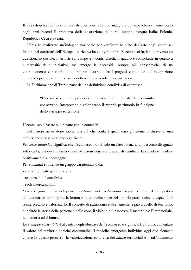 Anteprima della tesi: Comunicare un patrimonio: il Parco Geominerario Storico e Ambientale della Sardegna, Pagina 15