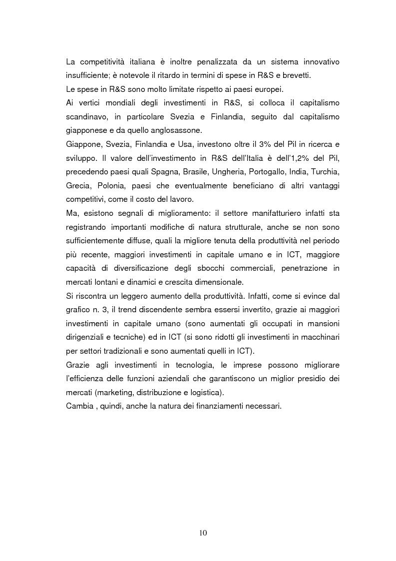 Anteprima della tesi: Le dinamiche di terziarizzazione dell'economia: un'indagine comparata sulla Regione Umbria, Pagina 8