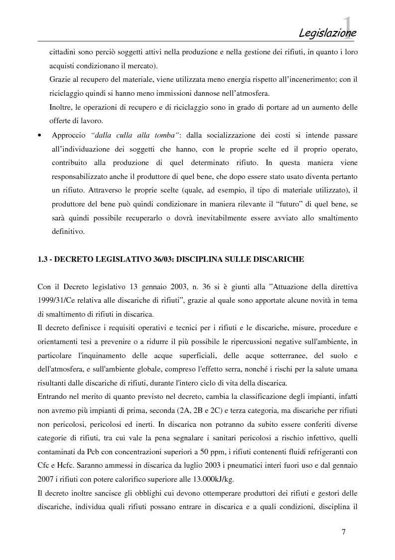 Anteprima della tesi: Interazione tra gli inquinanti e la frazione argillosa del suolo in un sito contaminato soggetto ad opere di bonifica e recupero ambientale, Pagina 5