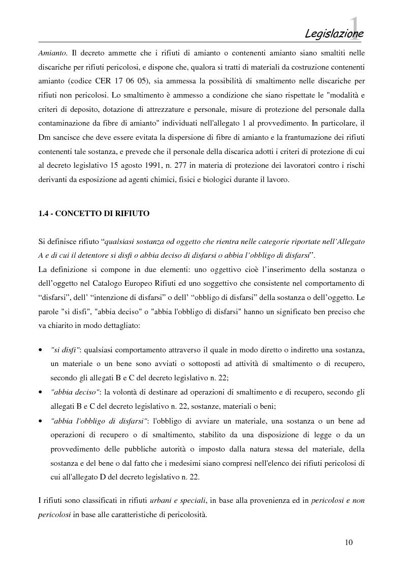Anteprima della tesi: Interazione tra gli inquinanti e la frazione argillosa del suolo in un sito contaminato soggetto ad opere di bonifica e recupero ambientale, Pagina 8