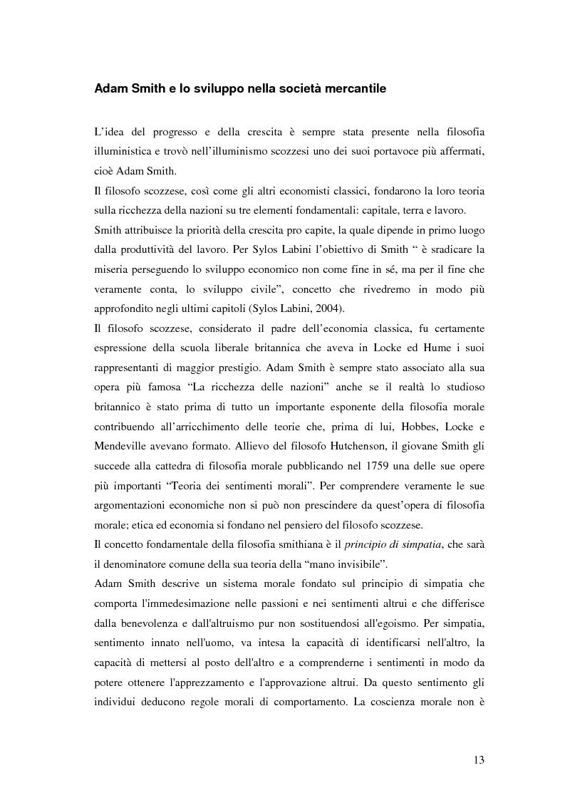 Anteprima della tesi: Sviluppo civile: per una critica simpatetica del paradigma dello sviluppo, Pagina 10