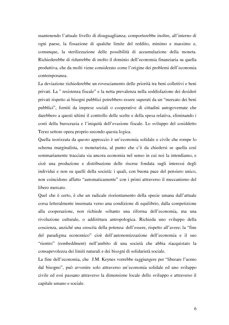 Anteprima della tesi: Sviluppo civile: per una critica simpatetica del paradigma dello sviluppo, Pagina 3