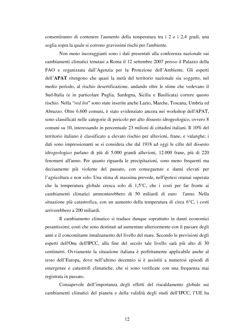Anteprima della tesi: La sperimentazione di colture energetiche nel Parco dell'Alta Murgia: analisi del processo produttivo della Brassica Carinata, Pagina 10