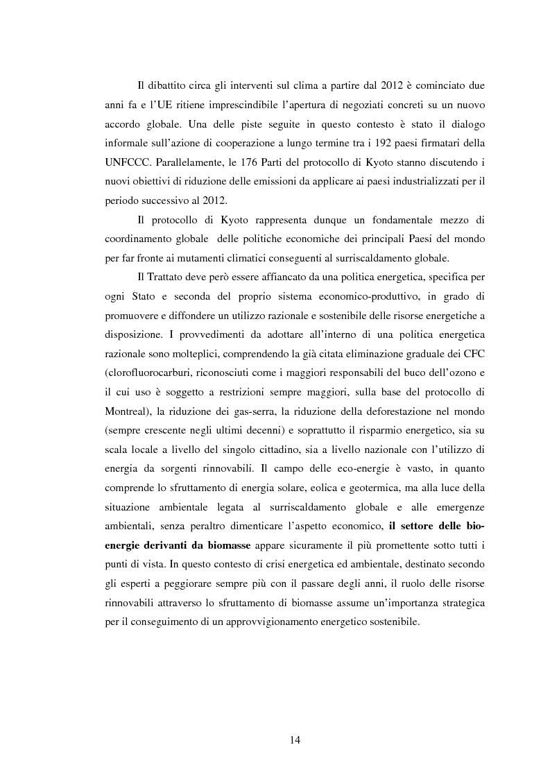 Anteprima della tesi: La sperimentazione di colture energetiche nel Parco dell'Alta Murgia: analisi del processo produttivo della Brassica Carinata, Pagina 12