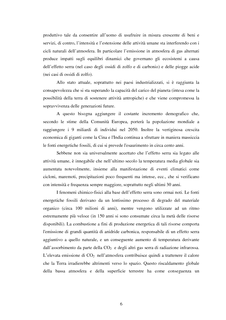 Anteprima della tesi: La sperimentazione di colture energetiche nel Parco dell'Alta Murgia: analisi del processo produttivo della Brassica Carinata, Pagina 4