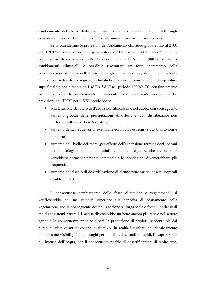 Anteprima della tesi: La sperimentazione di colture energetiche nel Parco dell'Alta Murgia: analisi del processo produttivo della Brassica Carinata, Pagina 5