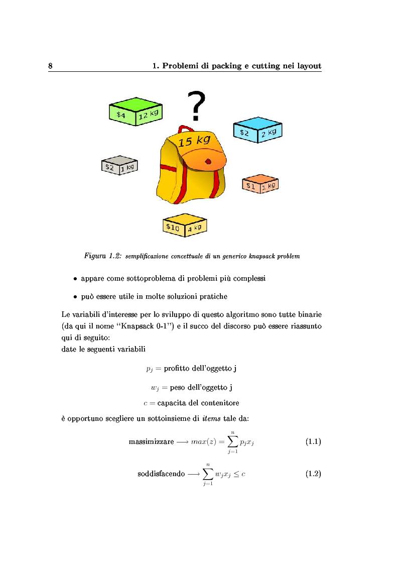 Anteprima della tesi: Modelli e algoritmi per l'ottimizzazione di layout fieristici, Pagina 10