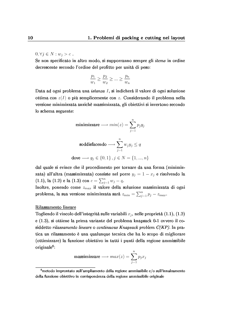 Anteprima della tesi: Modelli e algoritmi per l'ottimizzazione di layout fieristici, Pagina 12