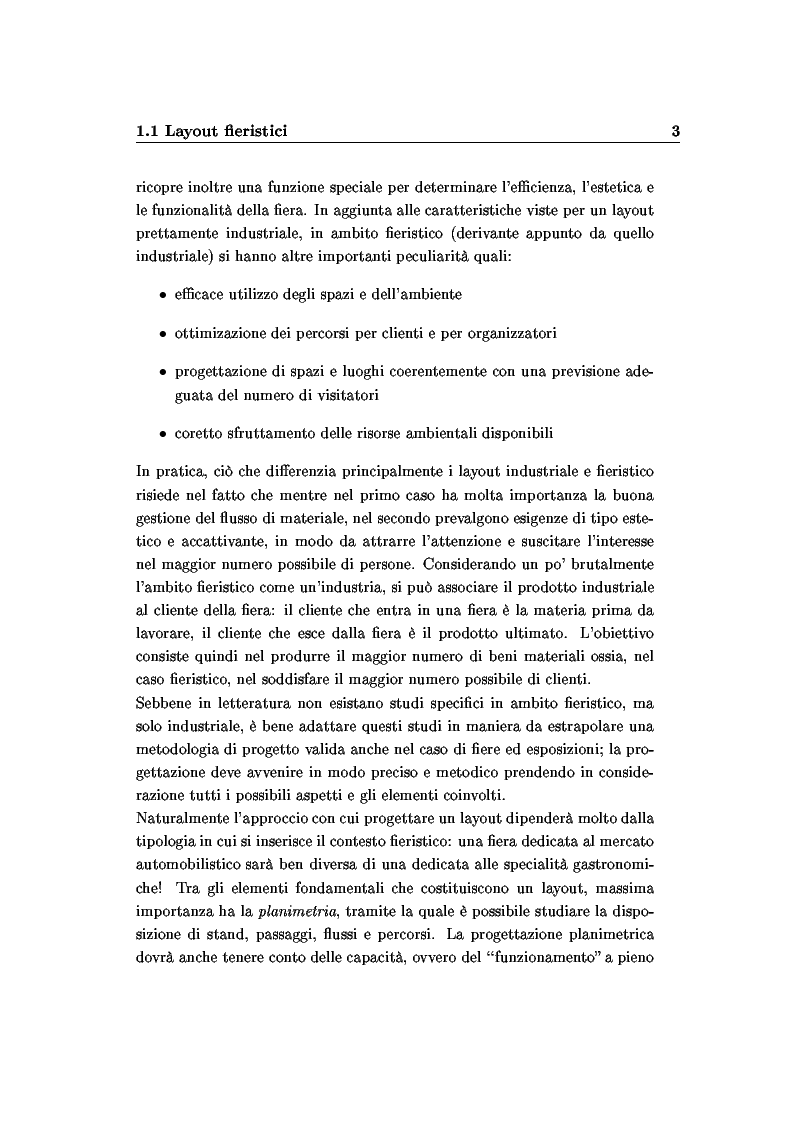Anteprima della tesi: Modelli e algoritmi per l'ottimizzazione di layout fieristici, Pagina 5