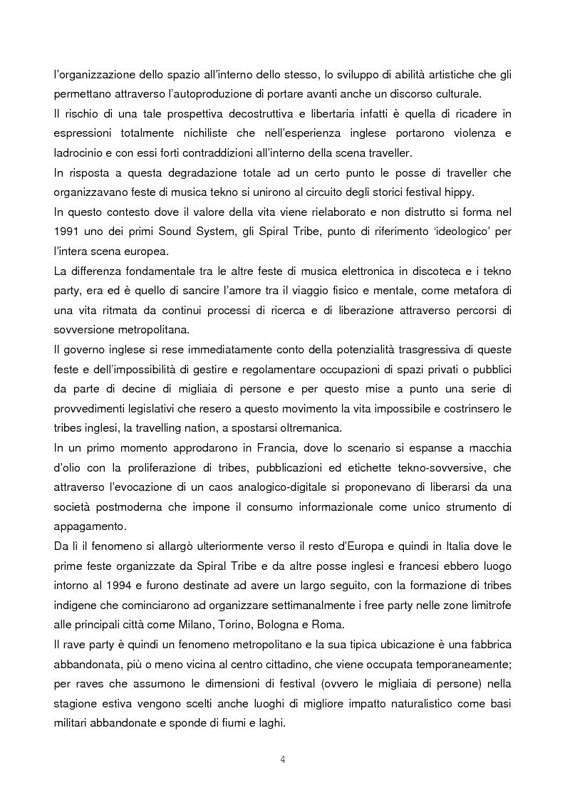 Anteprima della tesi: Il rave come fenomeno metropolitano: un'analisi antropologica, Pagina 2