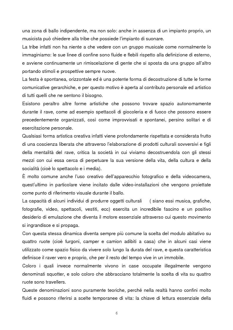 Anteprima della tesi: Il rave come fenomeno metropolitano: un'analisi antropologica, Pagina 4