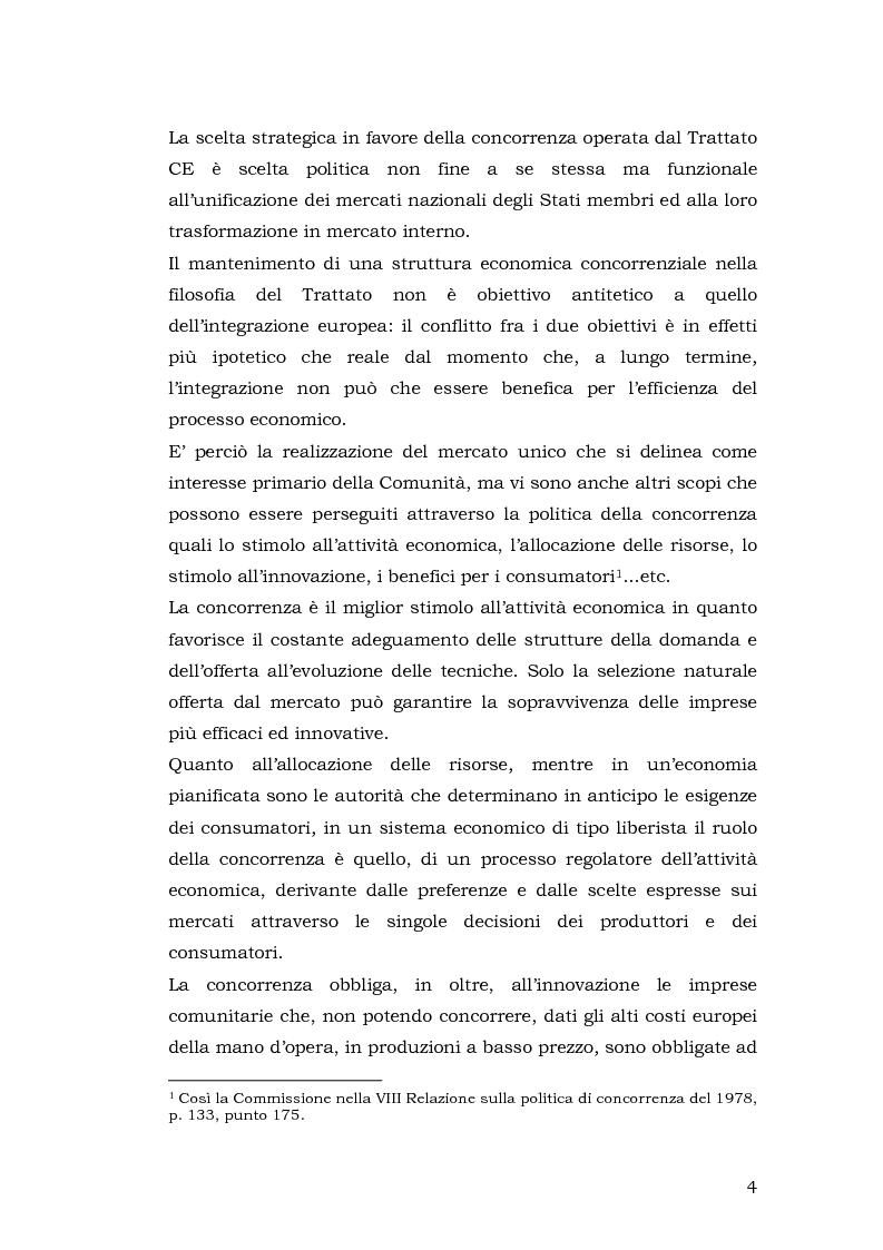 Anteprima della tesi: Gli aiuti di stato per il salvataggio e la ristrutturazione di imprese in difficoltà: il caso Alitalia, Pagina 4