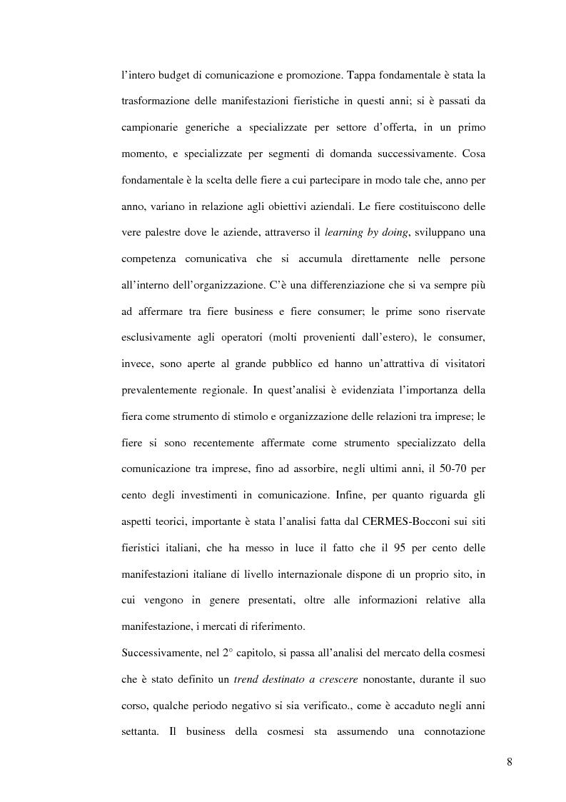 Anteprima della tesi: Nuove strategie comunicative: il gruppo Aquolina, Pagina 2