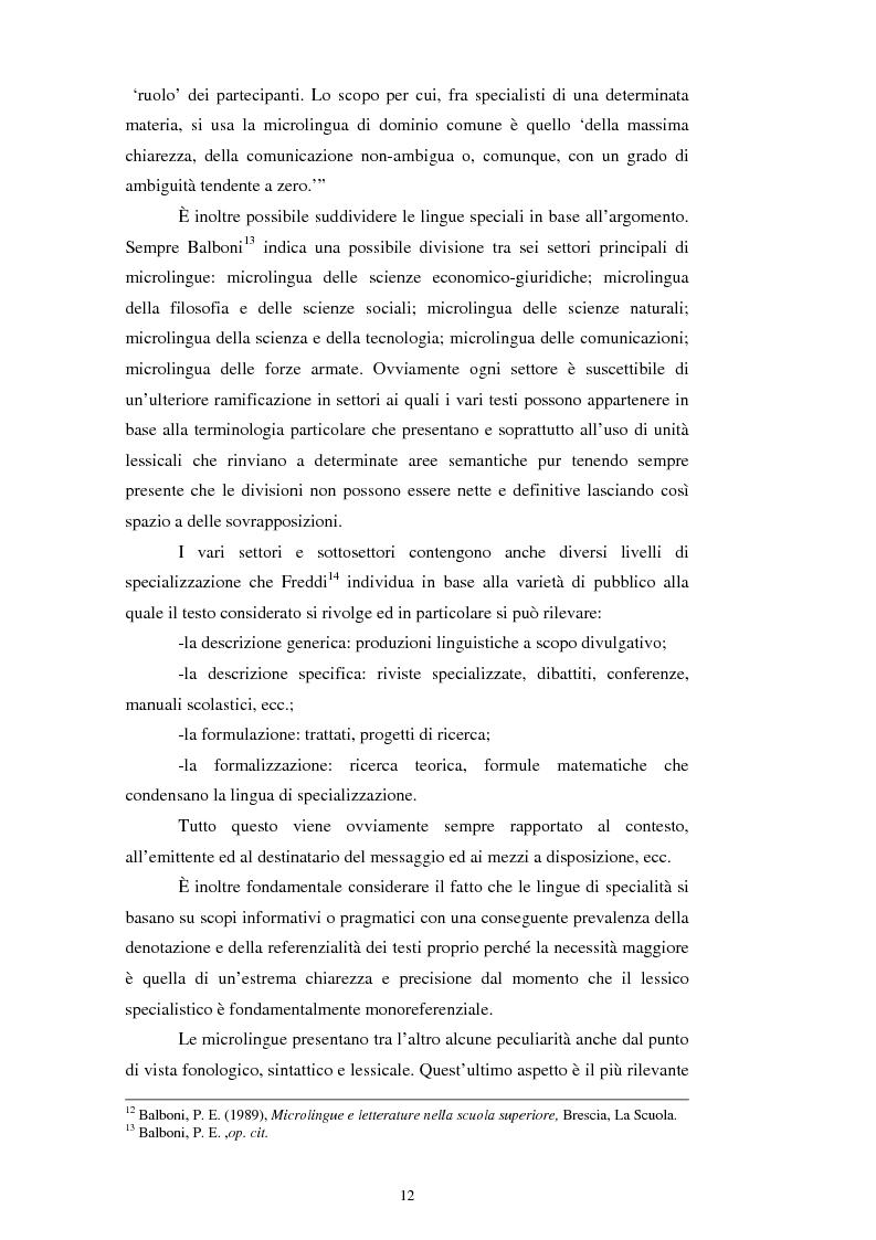 Anteprima della tesi: Teoria e pratica della traduzione: la filiazione e le sentenze del ''Journal del tribunaux'', Pagina 8