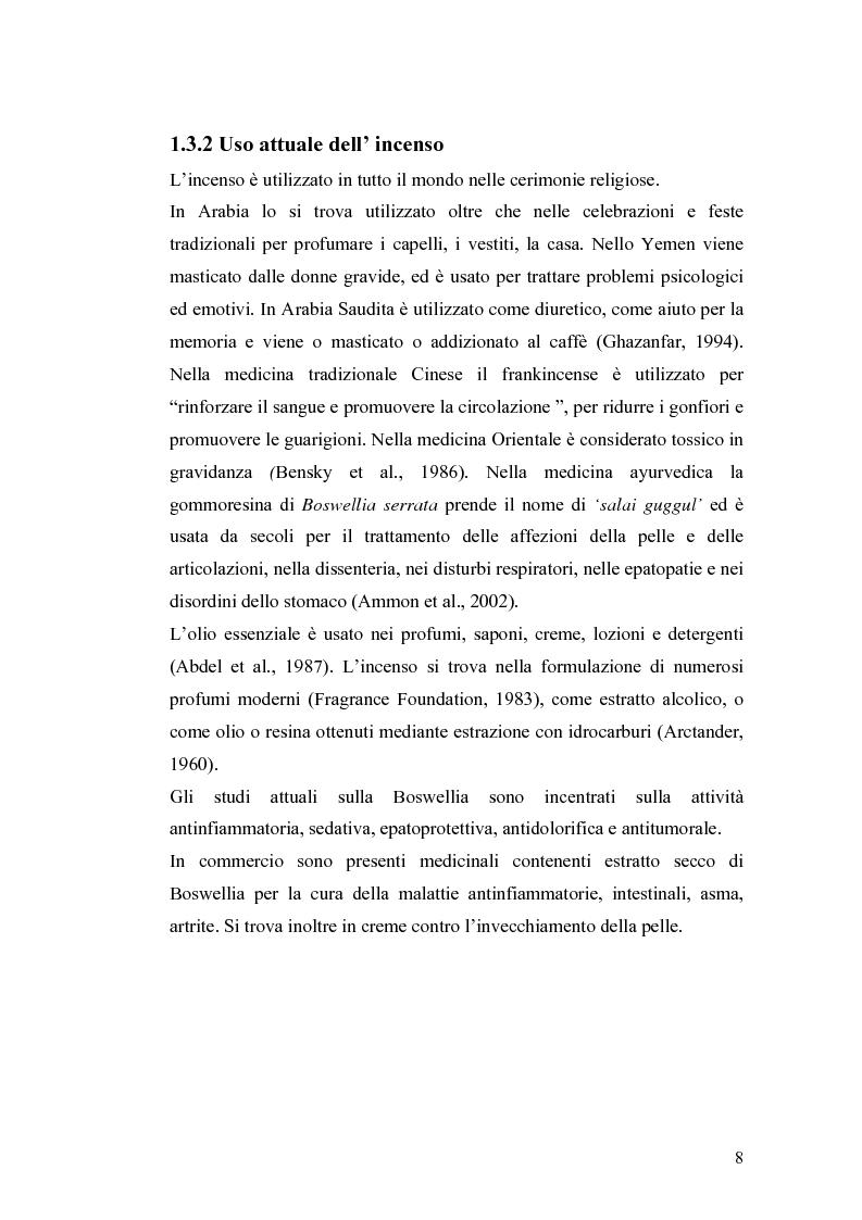 Anteprima della tesi: Effetto di un estratto di Boswellia serrata e di acido 3-o-acetil-11-cheto-beta-boswellico sulle metalloproteasi di matrice 2 e 9 di cheratinociti, Pagina 8