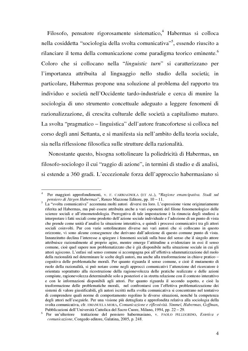 Anteprima della tesi: L'opinione pubblica nel pensiero politico del primo Habermas, Pagina 2
