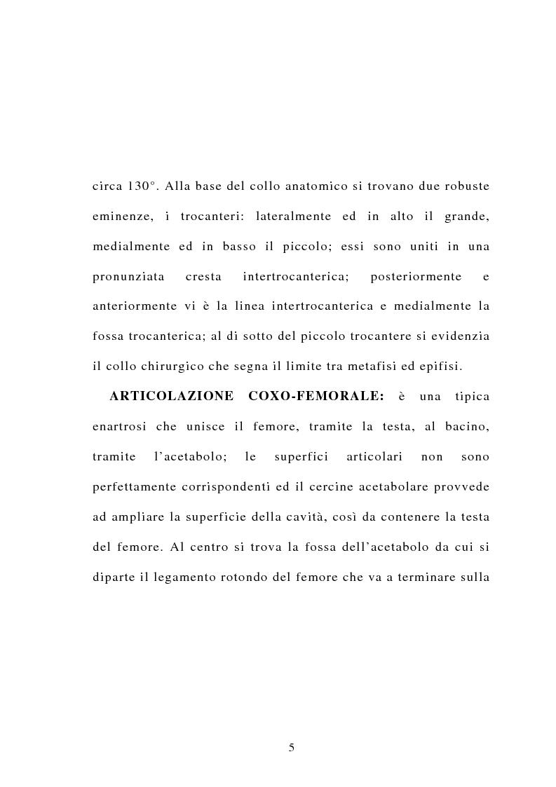 Anteprima della tesi: La frattura del collo del femore nell'anziano, Pagina 3