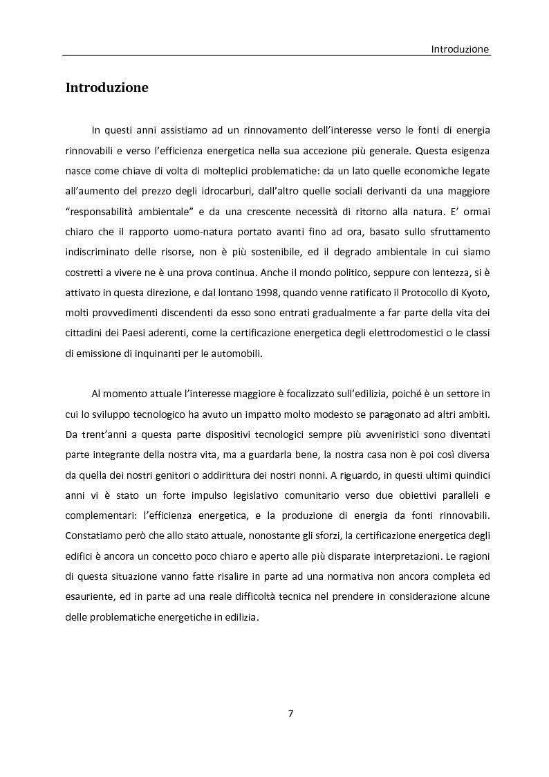 Anteprima della tesi: Building automation ed efficienza energetica: metodologia di valutazione del risparmio energetico conseguibile mediante controllo integrato dell'illuminazione e delle protezioni solari, Pagina 1