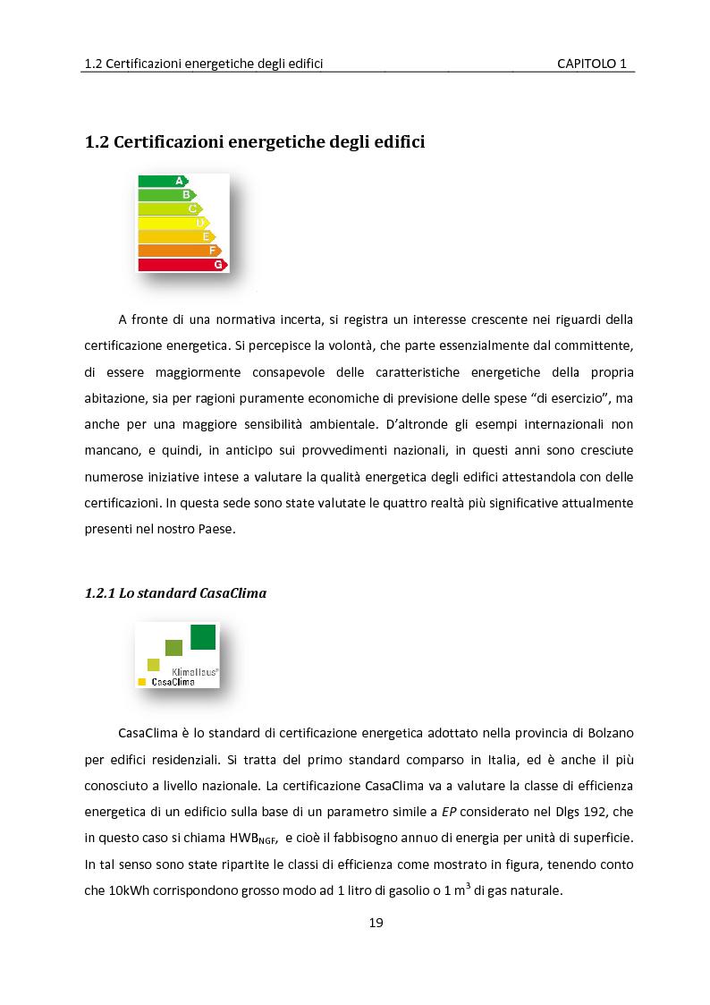 Anteprima della tesi: Building automation ed efficienza energetica: metodologia di valutazione del risparmio energetico conseguibile mediante controllo integrato dell'illuminazione e delle protezioni solari, Pagina 13