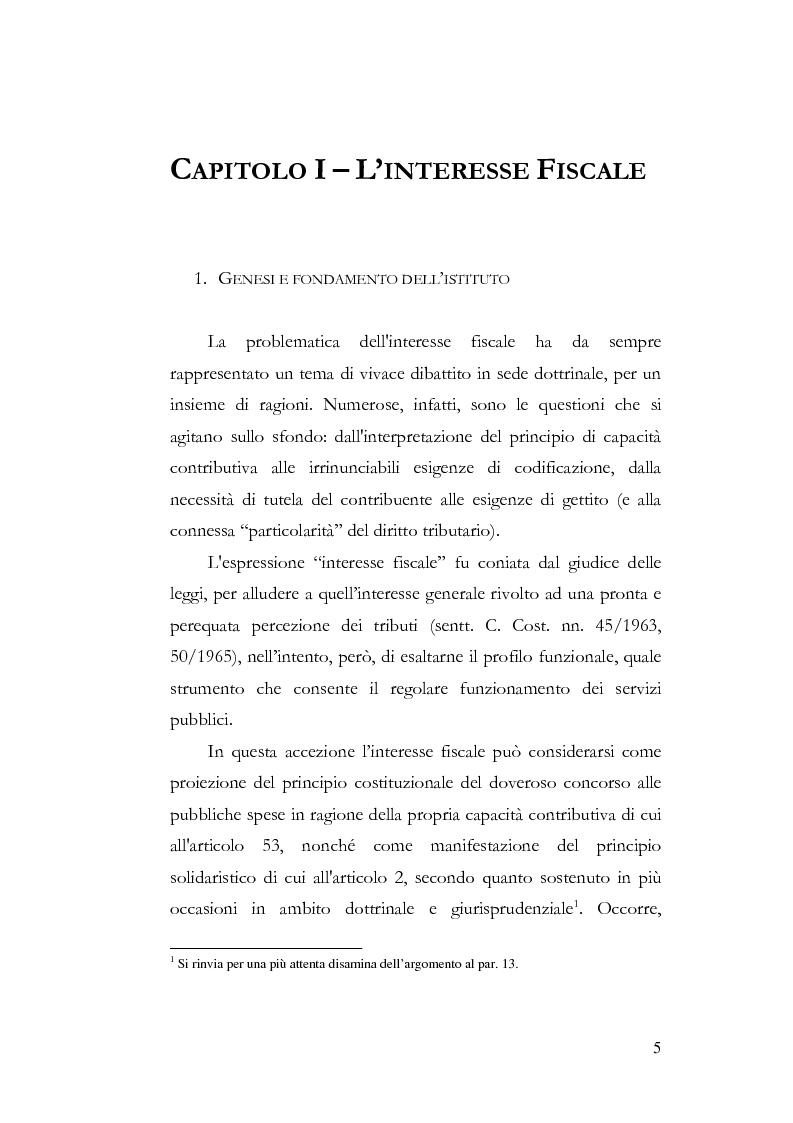 Anteprima della tesi: I profili costituzionali della responsabilità d'imposta, Pagina 3
