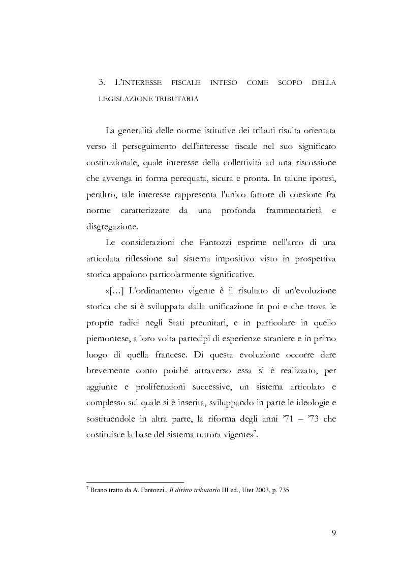 Anteprima della tesi: I profili costituzionali della responsabilità d'imposta, Pagina 7