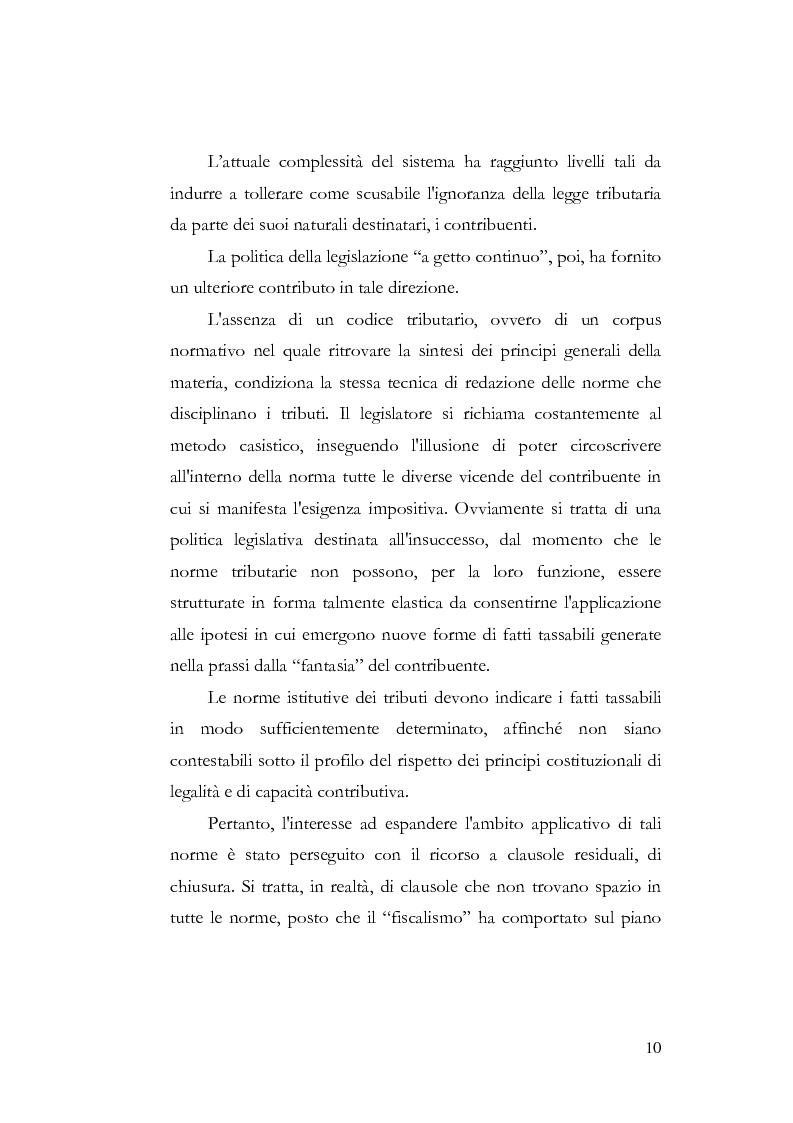Anteprima della tesi: I profili costituzionali della responsabilità d'imposta, Pagina 8