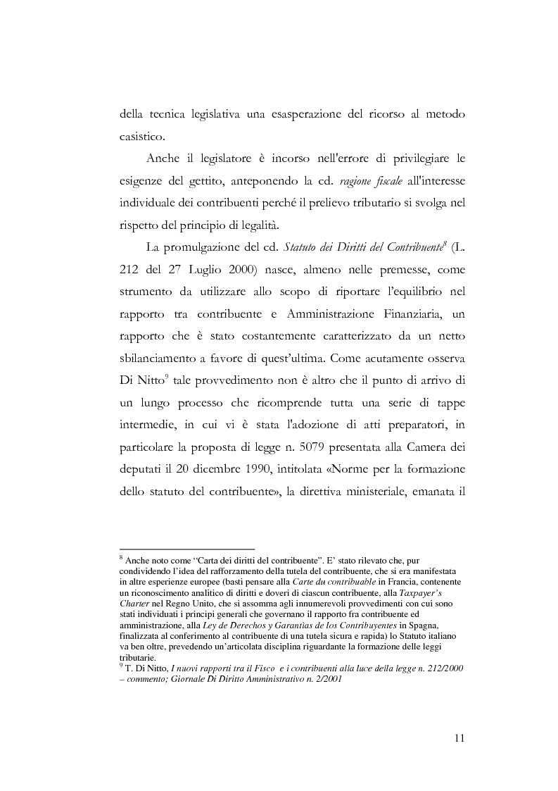 Anteprima della tesi: I profili costituzionali della responsabilità d'imposta, Pagina 9
