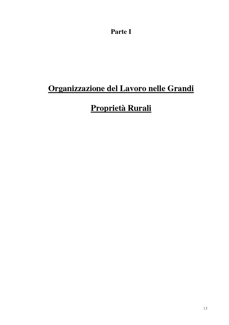 Anteprima della tesi: Organizzazione del lavoro nelle proprietà rurali in età Imperiale (con particolare attenzione al personale epigraficamente attestato in Puglia), Pagina 10