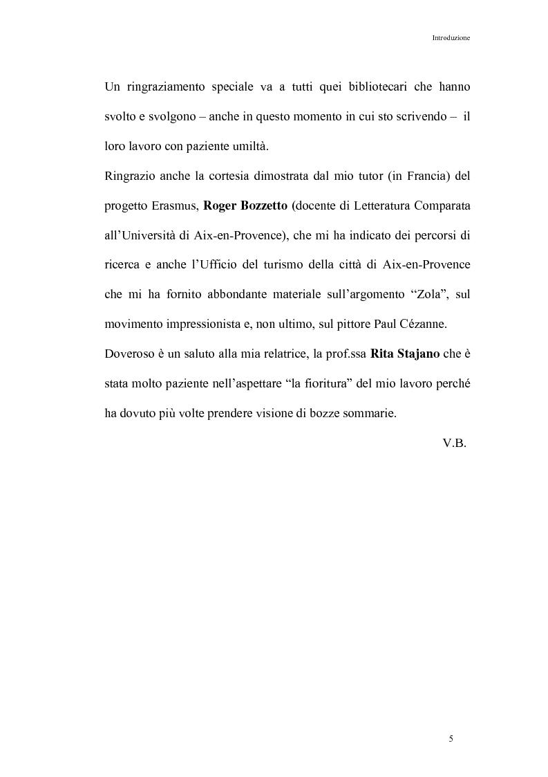Anteprima della tesi: Thérèse Raquin: tra naturalismo ed impressionismo, Pagina 5