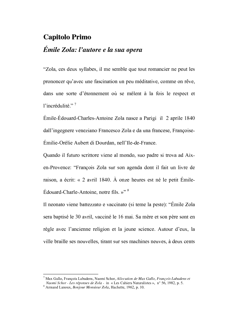 Anteprima della tesi: Thérèse Raquin: tra naturalismo ed impressionismo, Pagina 7