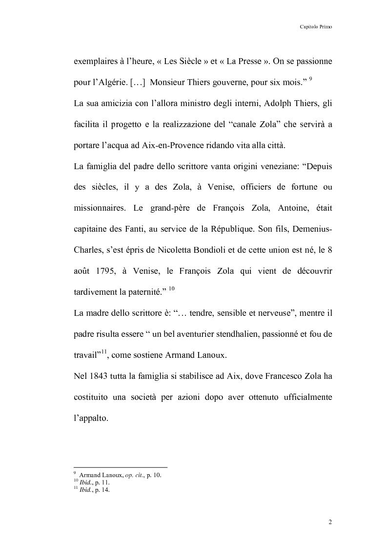 Anteprima della tesi: Thérèse Raquin: tra naturalismo ed impressionismo, Pagina 8