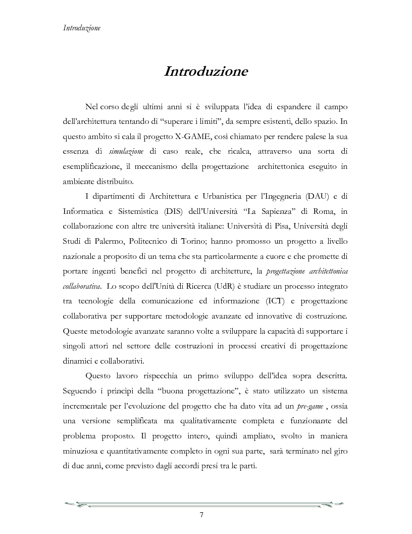 Anteprima della tesi: Un ambiente di interoperabilità per sistemi CAD eterogenei nell'ambito della Progettazione Architettonica Collaborativa, Pagina 1
