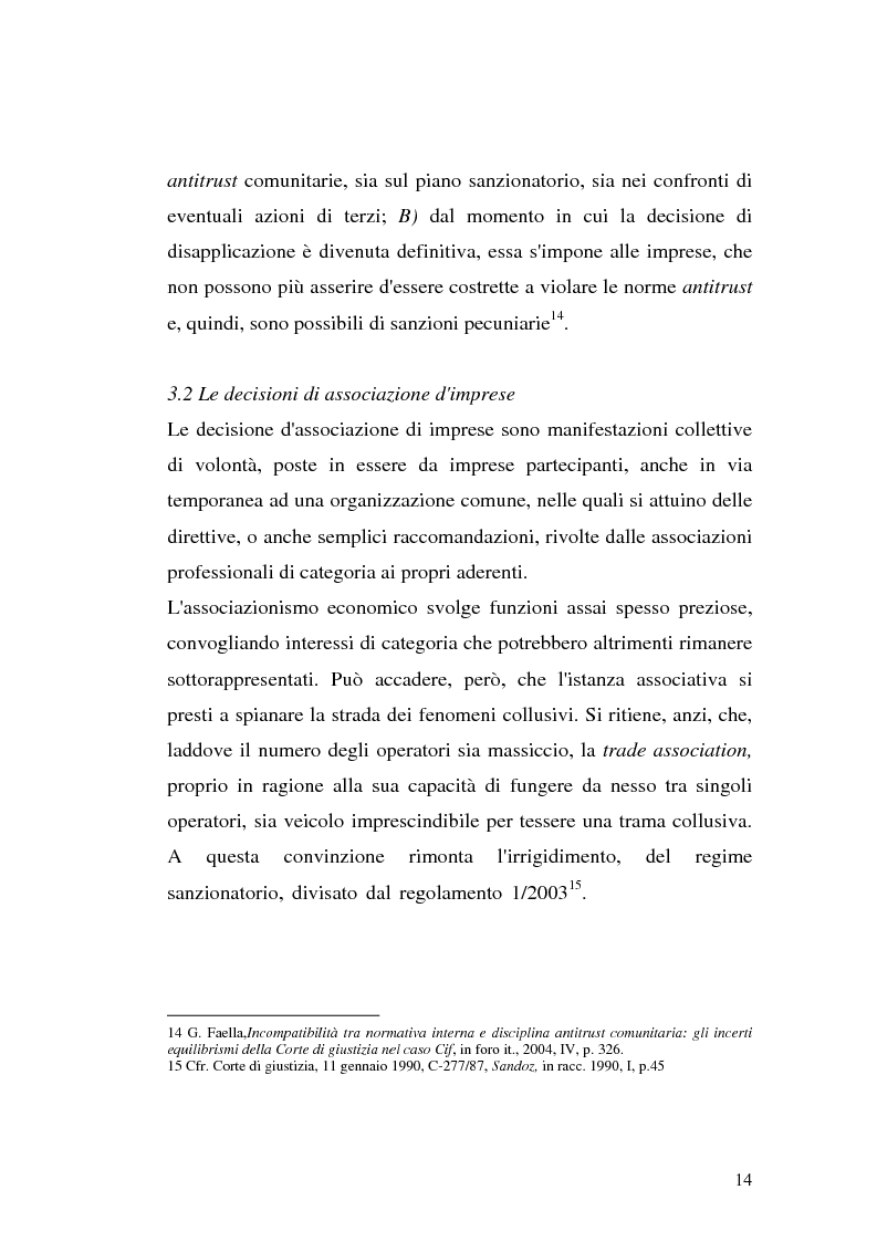 Anteprima della tesi: Le intese verticali nell'ambito della legge antitrust, Pagina 12