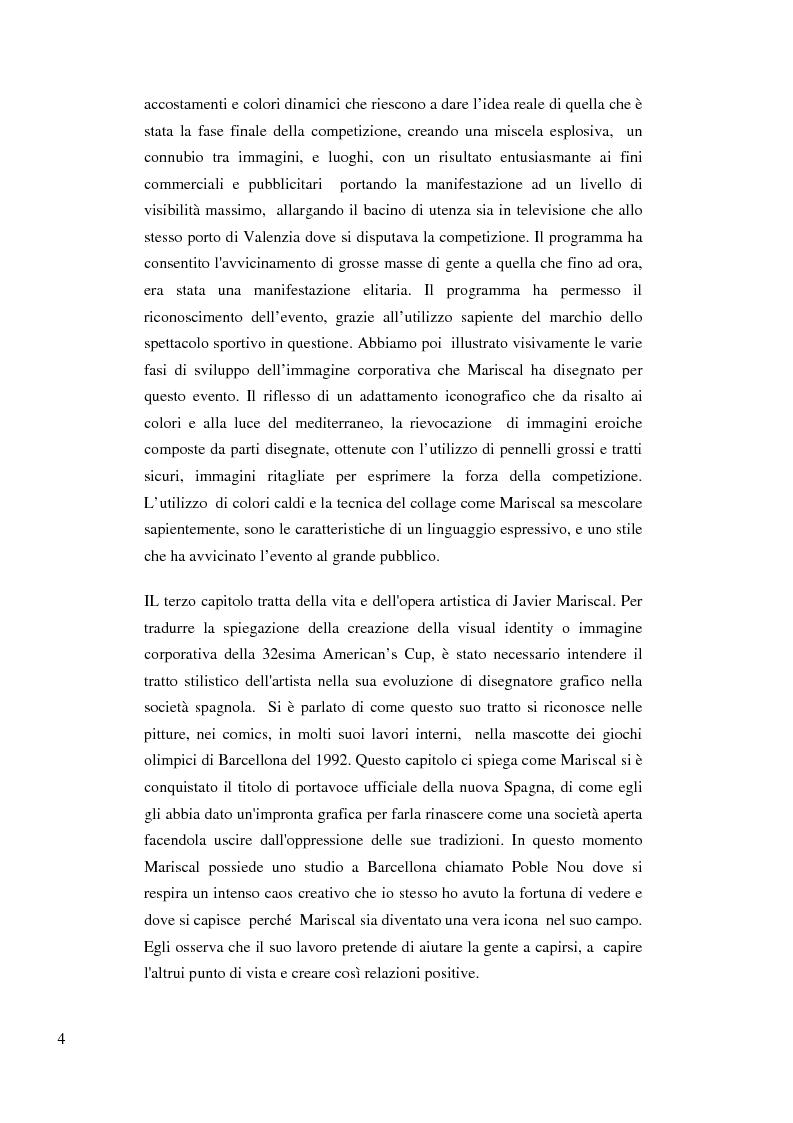 Anteprima della tesi: La visual identity nella costruzione della 32 America's Cup passando dal segno visivo, Pagina 4