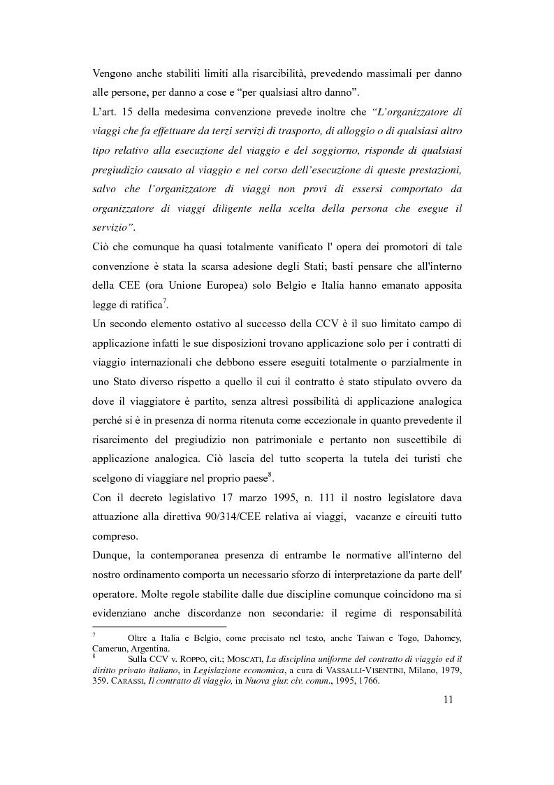Anteprima della tesi: Il danno da vacanza rovinata come danno non patrimoniale da inadempimento contrattuale, Pagina 7