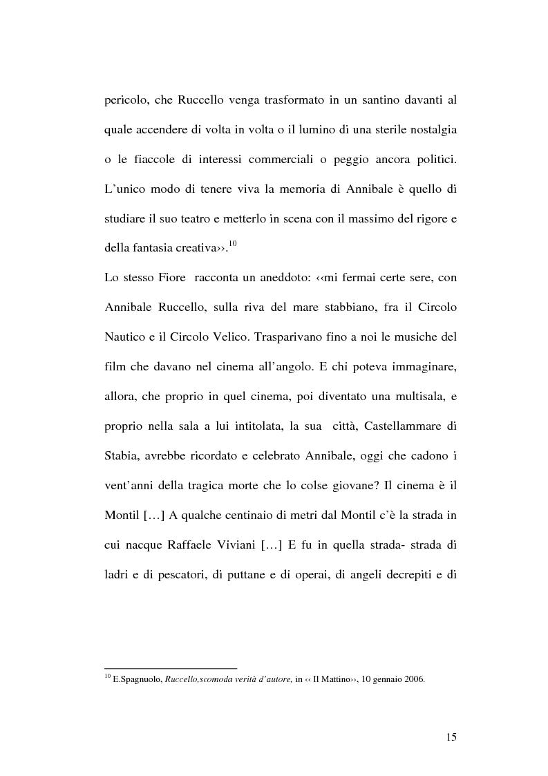 Anteprima della tesi: Sulle ceneri dell'avanguardia. Per il teatro di Annibale Ruccello, Pagina 12