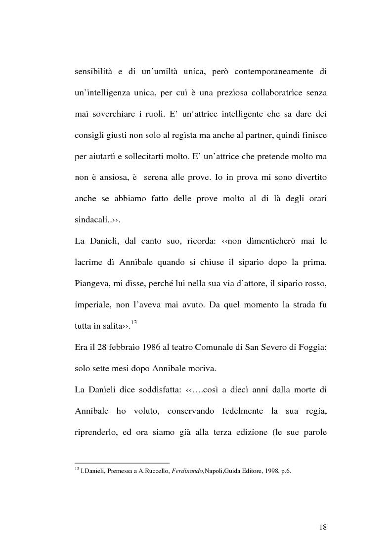 Anteprima della tesi: Sulle ceneri dell'avanguardia. Per il teatro di Annibale Ruccello, Pagina 15