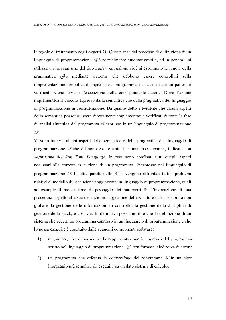 Anteprima della tesi: Analisi di un ambiente simbolico per lo sviluppo di un compilatore parallelizzante, Pagina 11