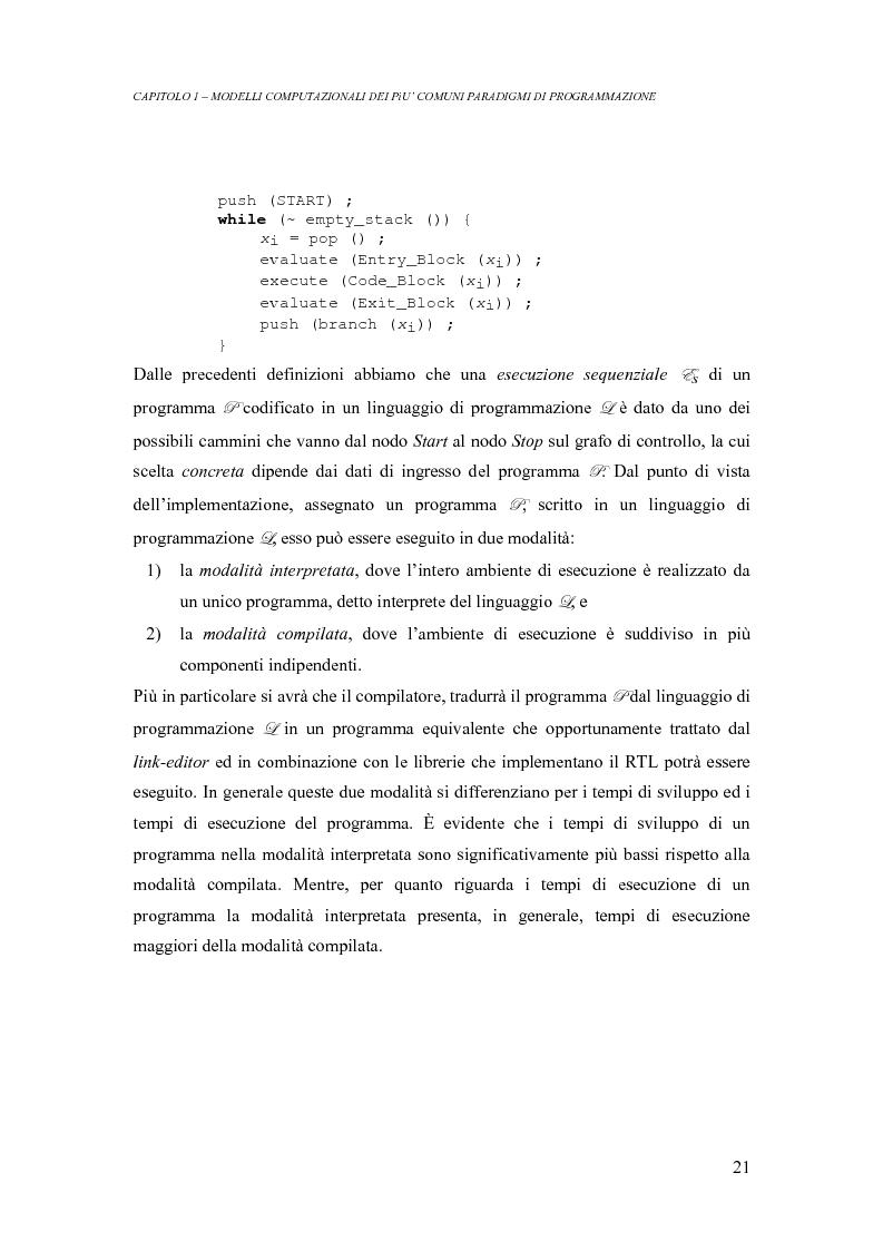 Anteprima della tesi: Analisi di un ambiente simbolico per lo sviluppo di un compilatore parallelizzante, Pagina 15